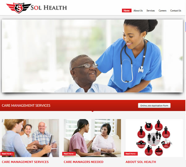 Health Care Website Web Designers