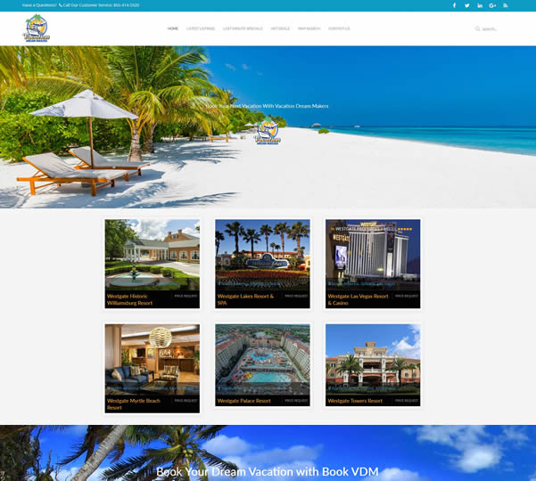 Travel Vacation Websites