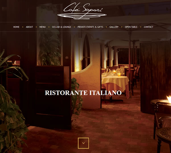 Florida Restaraunt Website Design