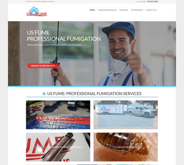 Fumigationl Web Design