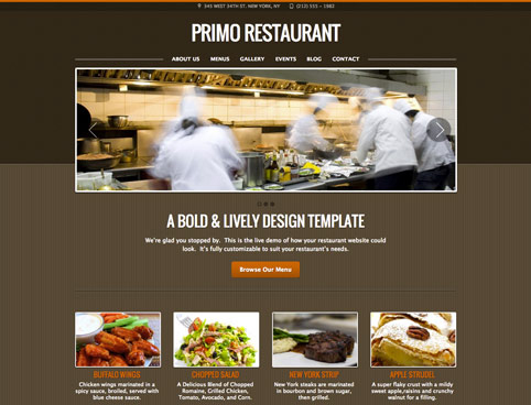 Web Designers for restaurants and bars in West Palm Beach Florida