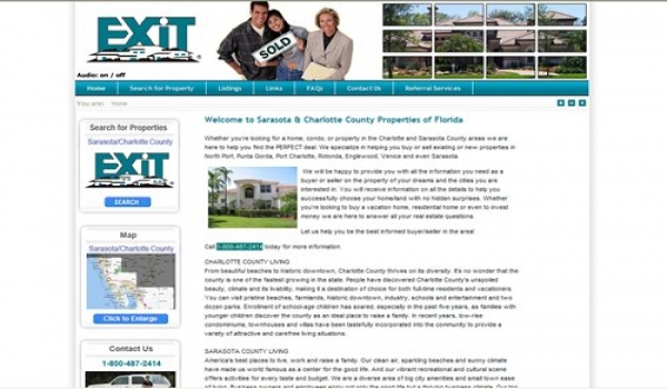 EXIT Realty Agent Listing Website