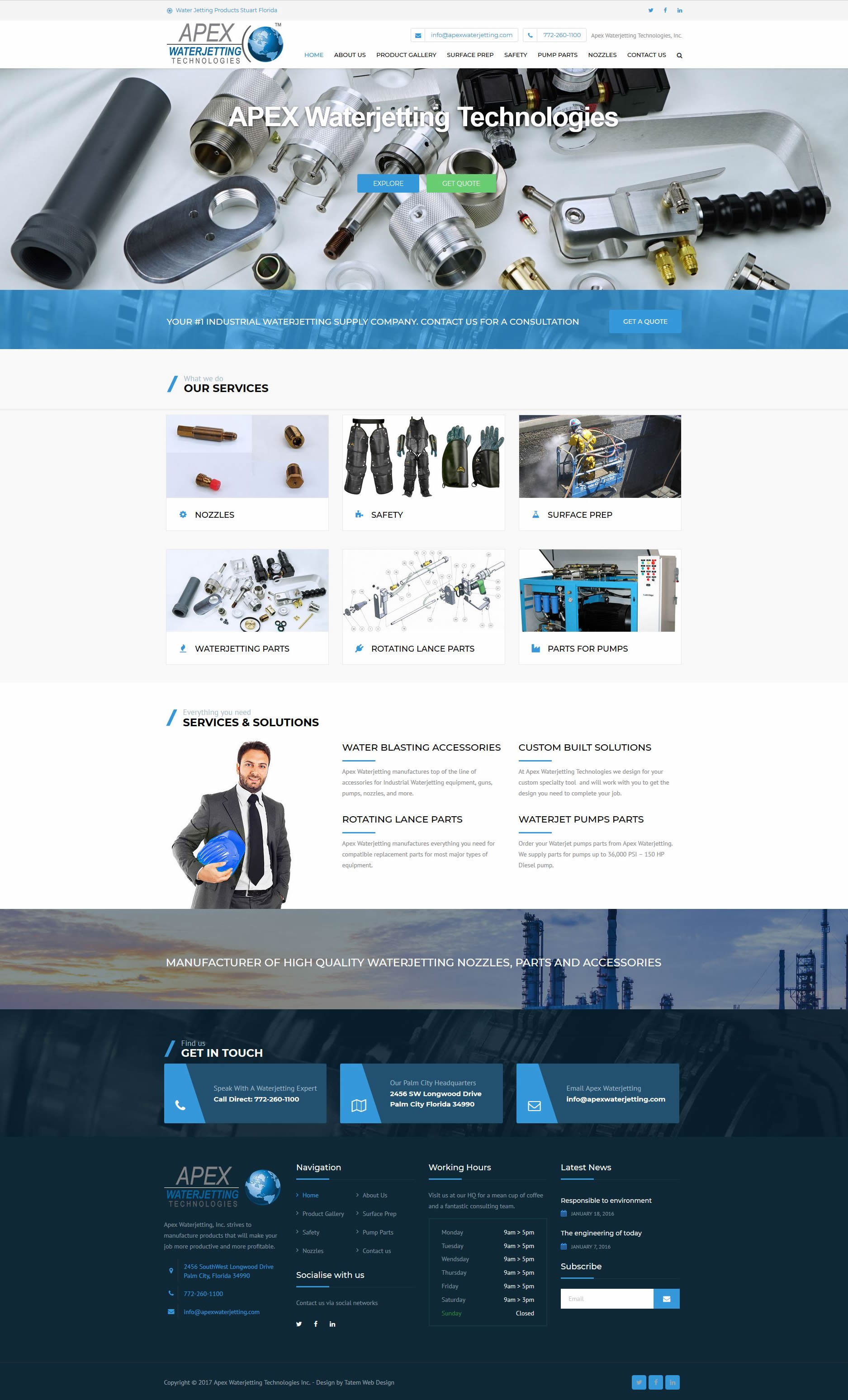 website design portfolio stuart florida website designers fl