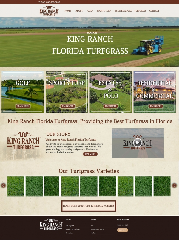 King Ranch Turfgrass