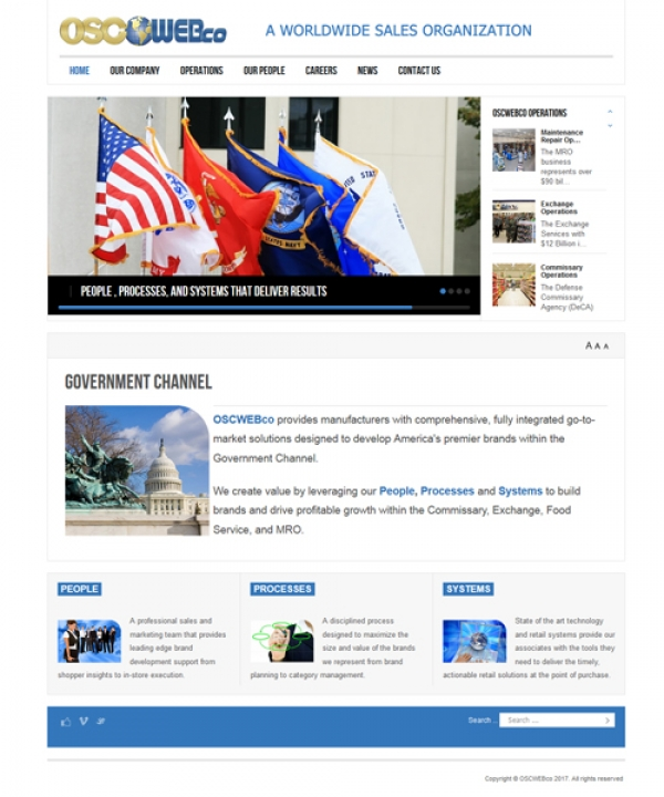Military Web Design