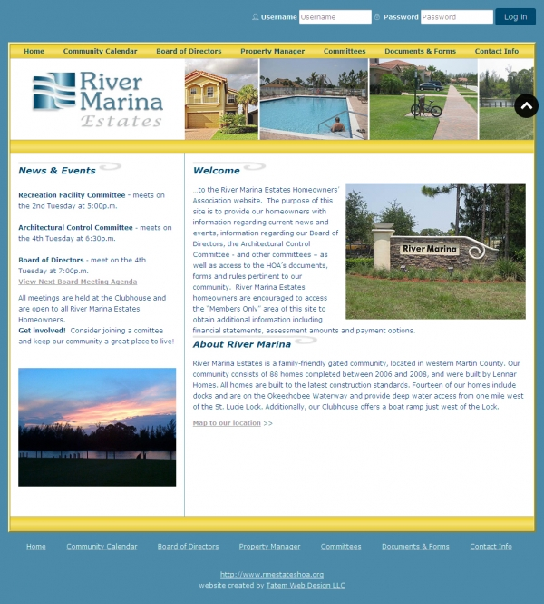 River Marina Estates