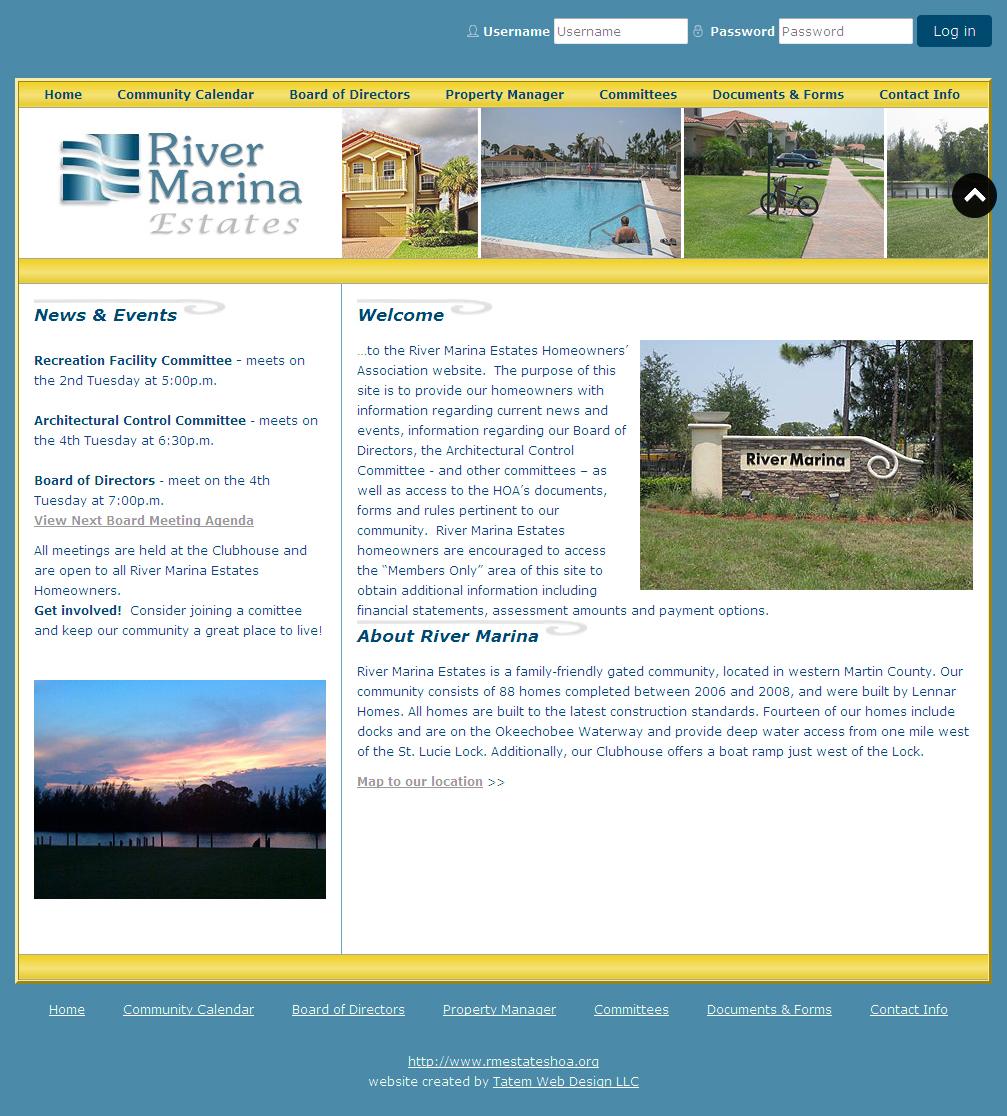 River Marina Estates