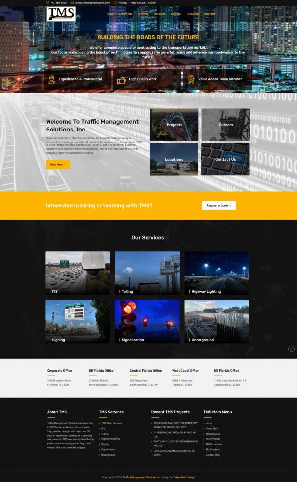 Traffic Management Solutions, Inc.